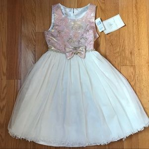 NWT Couture princess size 10 fancy girls dress